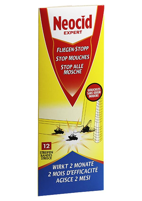 Schädlingsbekämpfung & Insektenschutz gegen Fliegen: Neocid EXPERT Fliegen-Stopp Streifen