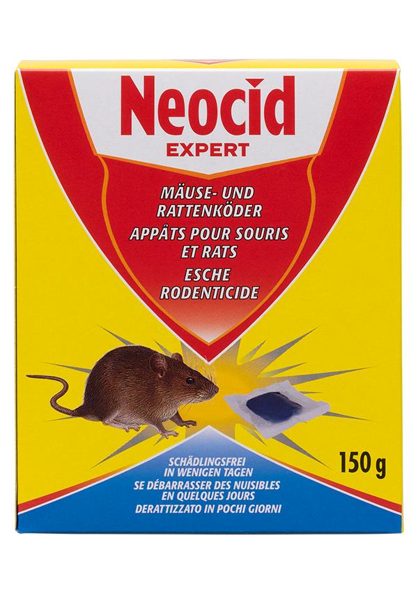 Schädlingsbekämpfung & Insektenschutz gegen Nagetiere: Neocid EXPERT Mäuse- und Rattenköder