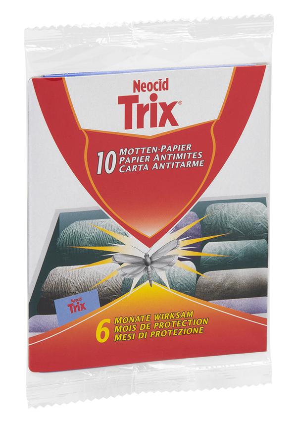 Schädlingsbekämpfung & Insektenschutz gegen Motten: Neocid TRIX Motten Papier