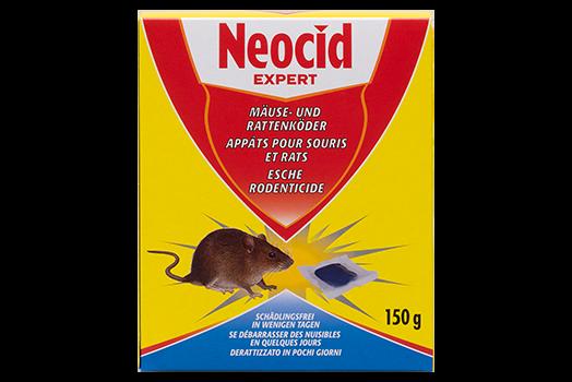 Schädlingsbekämpfung & Insektenschutz gegen Motten: Neocid EXPERT Mäuse- und Rattenköder